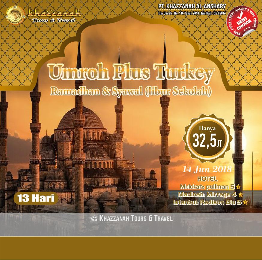 Umroh Plus Turki ramadhan Syawwal