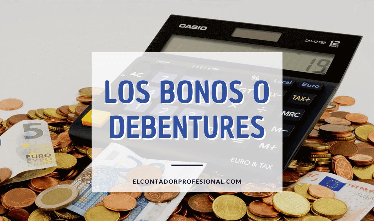 bonos o debentures