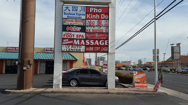 Chinatown Vegas Strip Mall