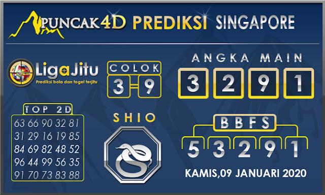 PREDIKSI TOGEL SINGAPORE PUNCAK4D 09 JANUARI2020