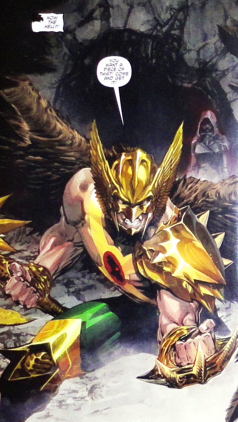 New 52 Hawkman Whatever Gods There Be...