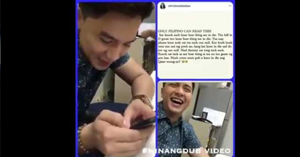 2swQytV BEHIND THE SCENES: Alden Richards Hilariously reading Ninang Dub's Instagram Post