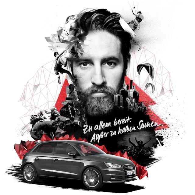 Audi A1. Alles andere ist Plan B. | Anzeige im Atomlabor Blog _ Audi ist Lifestyle und was bist Du?