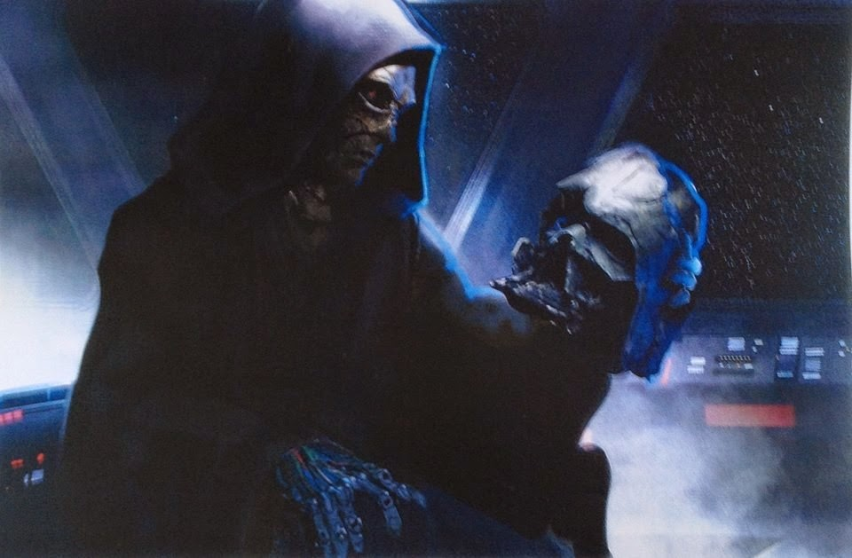 vader's mask in star was 7