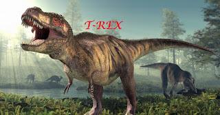 T-rex berukuran raksasa