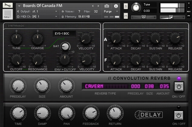 Download StrettEVS free sample library for Kontakt & sfz