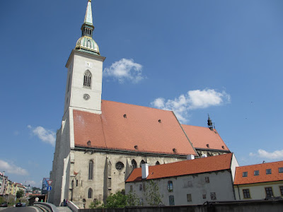 Catedral de San Martín en Bratislava, Eslovaquia