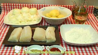 Receta de bacalao a la Portuguesa
