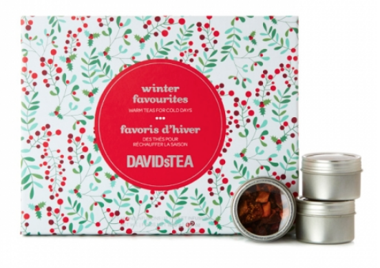 favoris d'hiver kit David's tea