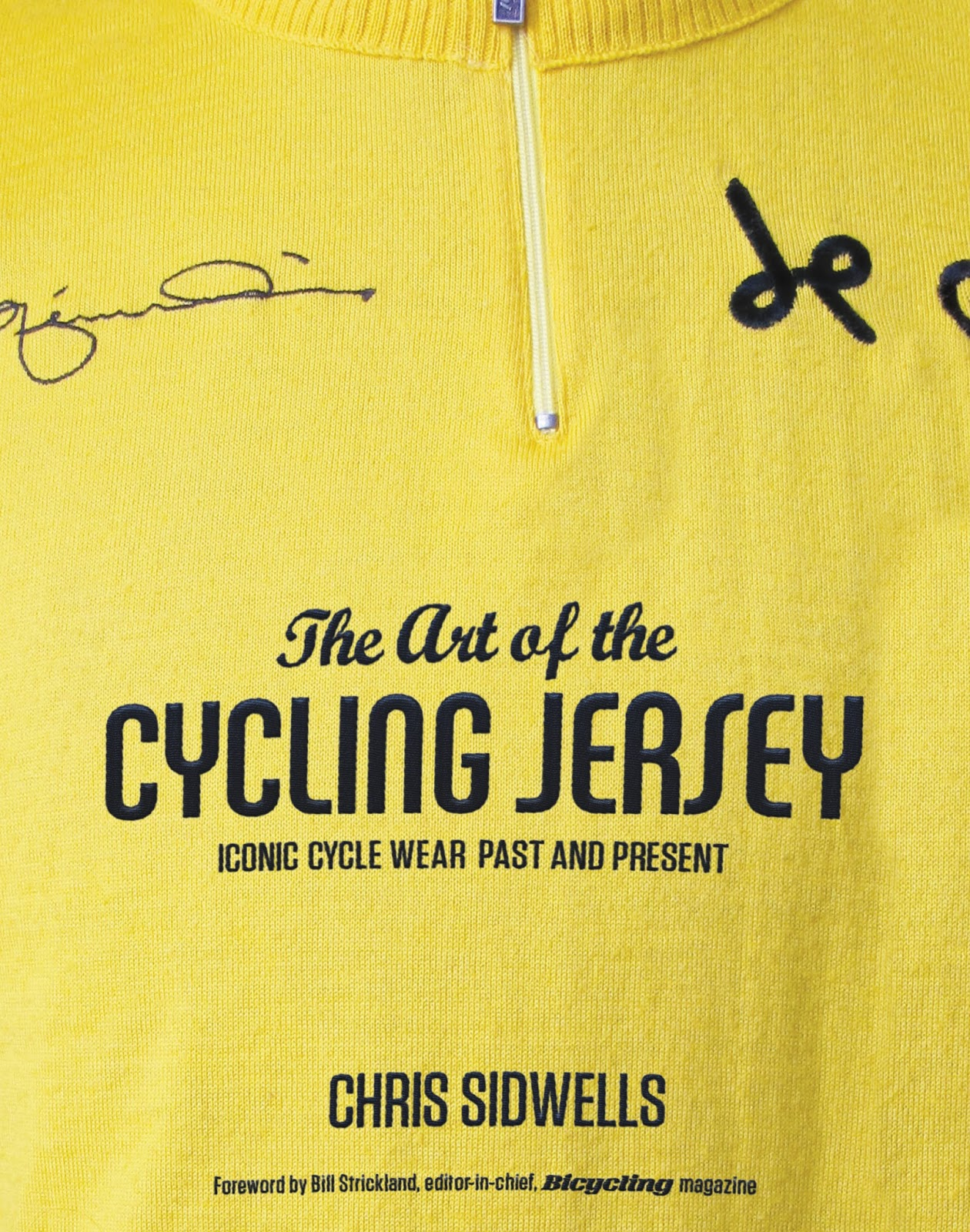 84b9a5056 Travels with a Tin Donkey  Book Review  The Art of the Cycling Jersey