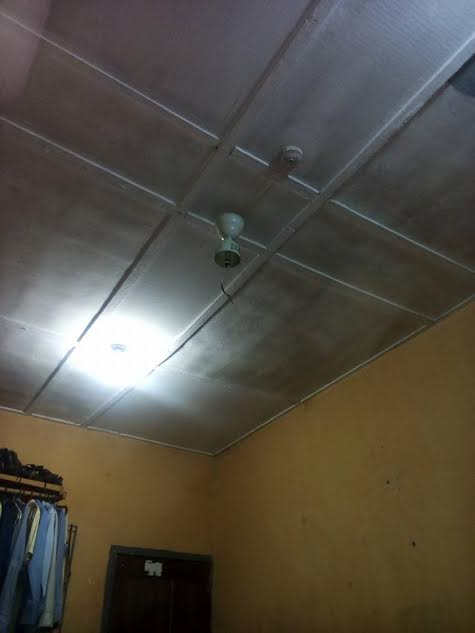 Final year uniuyo student escaped death as ceiling fan falls off according to ikpe one of his room mates had gone for for church vigil while the other was hospitalized so he changed his sleeping position that night aloadofball Gallery