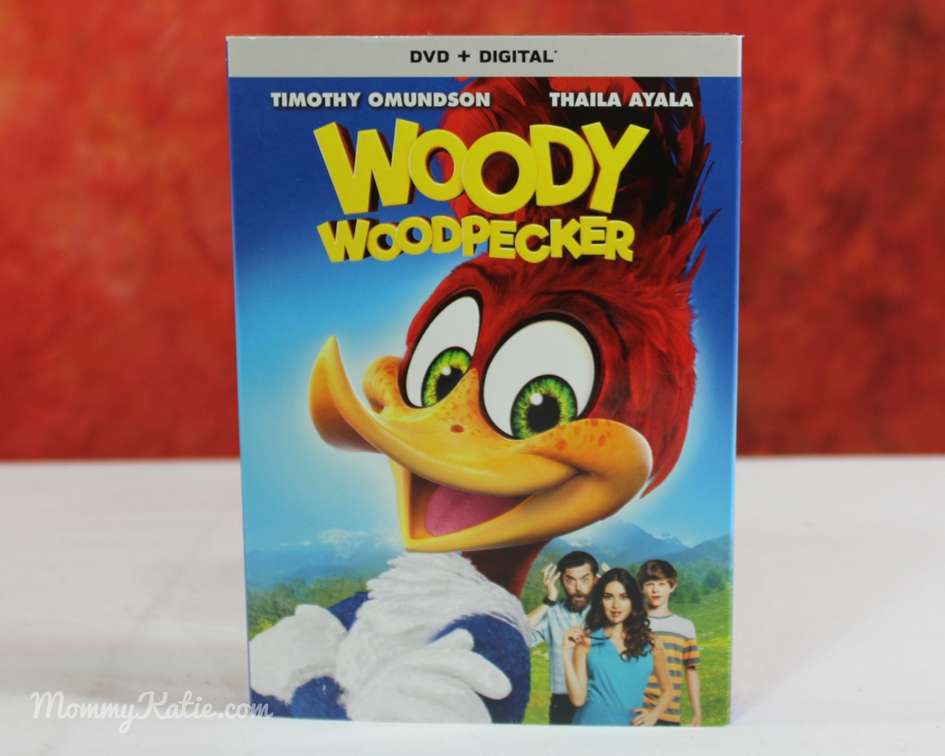 Giveaway Woody Woodpecker on DVD - Mommy Katie