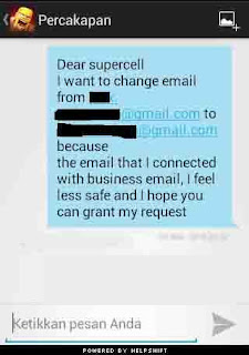 Cara Mudah Mengganti Email Clah Of Clans (COC) Lama Ke Email Yang Baru