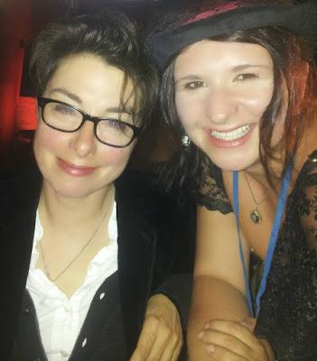 Sue Perkins and Silhouette Sarah