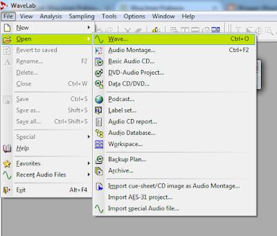 Cara Menggabungkan Audio Di Wavelab 6