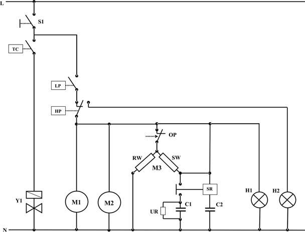 ASSEMBLING A REFRIGERATION SYSTEM  Diagram
