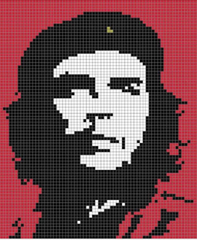 Häkelfieber Austria C 2 C Decke Che Guevara