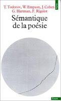 """""""Sémantique de la poésie"""" - T. Todorov"""
