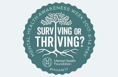 Mental Health Awareness. Surviving or Thriving.