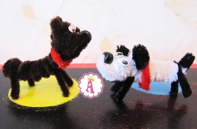 Как сделать собаку из синели SES Creative Chenille Dog DIY