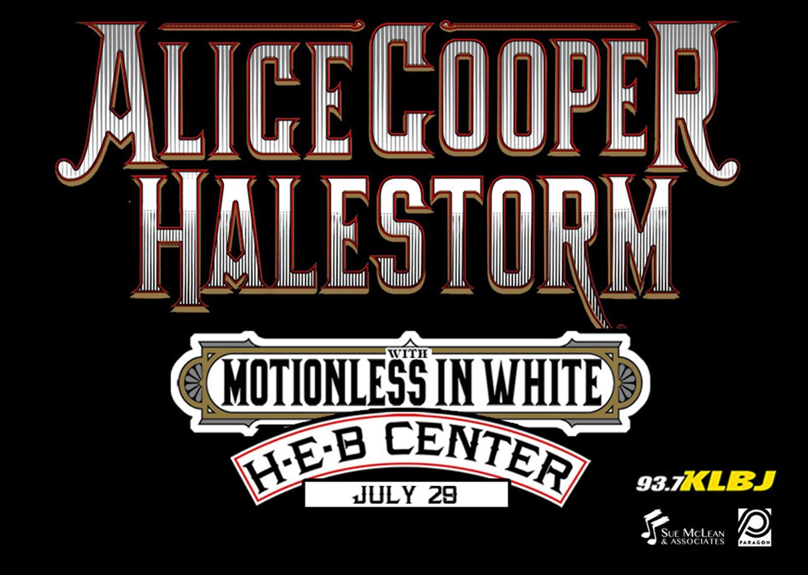 Alice Cooper and Halestorm | Texas Review | Ralph Arvesen