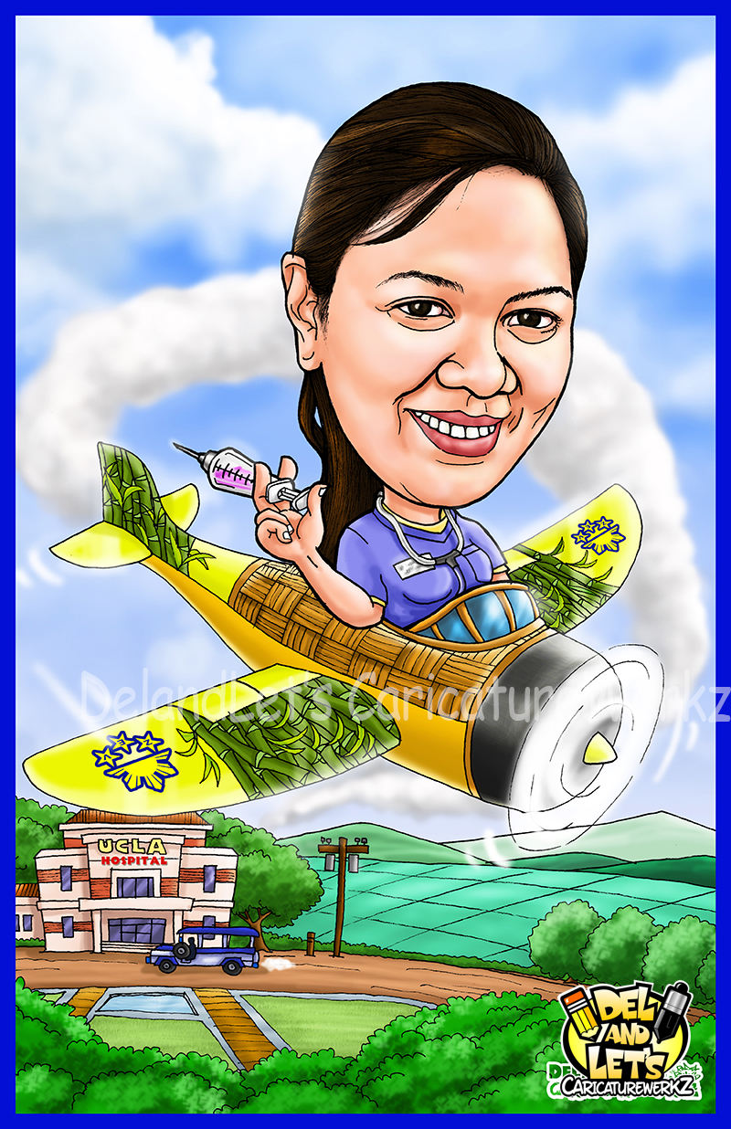 Caricatures By Delandlet S Caricaturewerkz Solo Caricatures