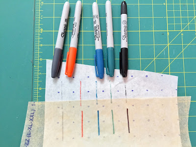 how to trace commercial sewing patterns tutorial