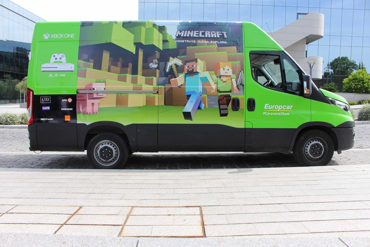 #CaravanaXbox, la nueva original forma de Microsoft para promocionar sus productos
