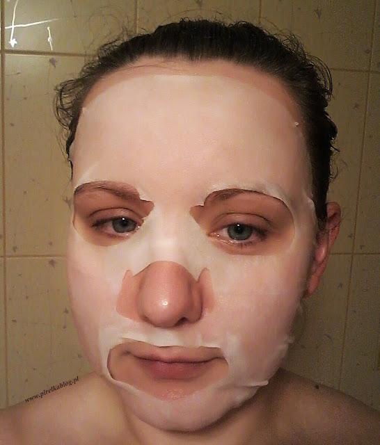 Skin79 - Maska w płacie Fresh Garden Glacial Water