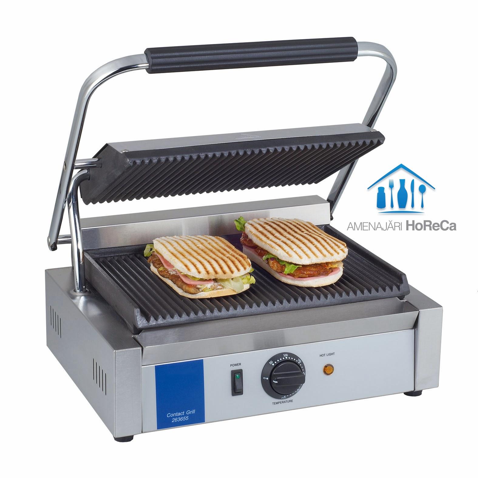 Sandwich Maker Grill, Model Mediu, Utilaje Fast Food, HoReCa