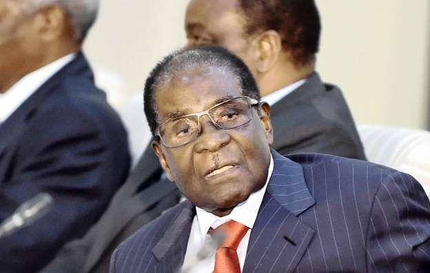 Robert Mugabe calls his removal a 'coup d'etat'