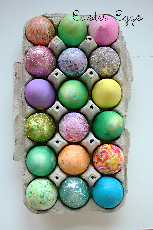 Easter Egg Decorating Table Darling Darleen A Lifestyle Design Blog