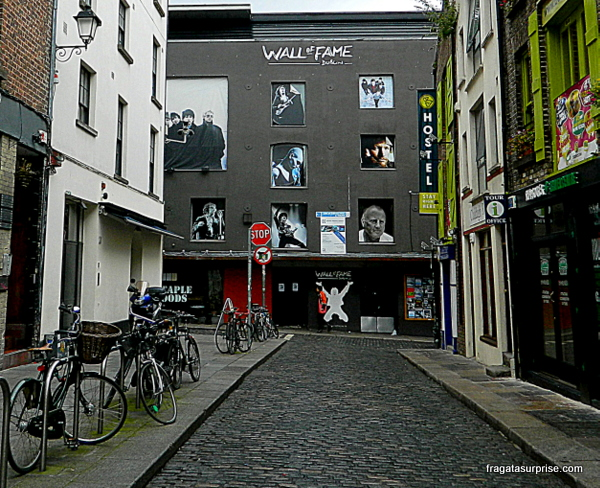 The Wall of fame - Temple Bar - Dublin - Irlanda