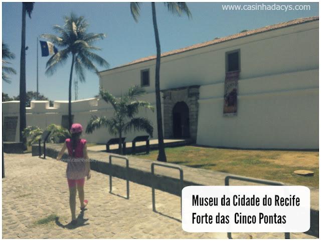 """Inscrições abertas  para a oficina gratuita """"Fortebrincar"""" no Museu da Cidade do Recife"""