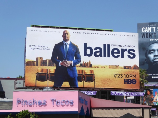 Ballers season 3 billboard
