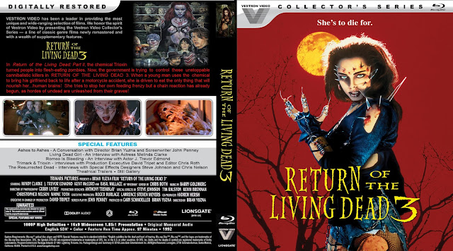 Return Of The Living Dead 3 Bluray Cover