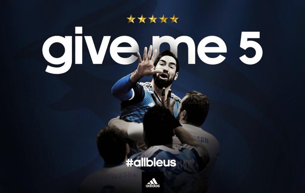 Campaña de Felicitación de adidas a la Selección Francesa de Balomano