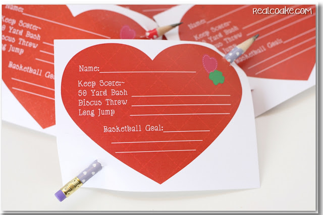 close up of heart printable for keeping score