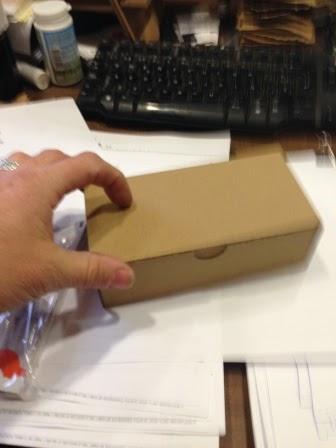 cajas automontables para 6 huevos.