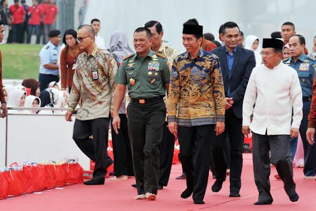 Jokowi : Komando Teritorial Tetap Dipertahankan