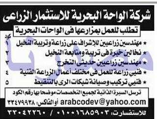 وظائف الشركات بجريدة الاهرام الجمعة 26-05-2017