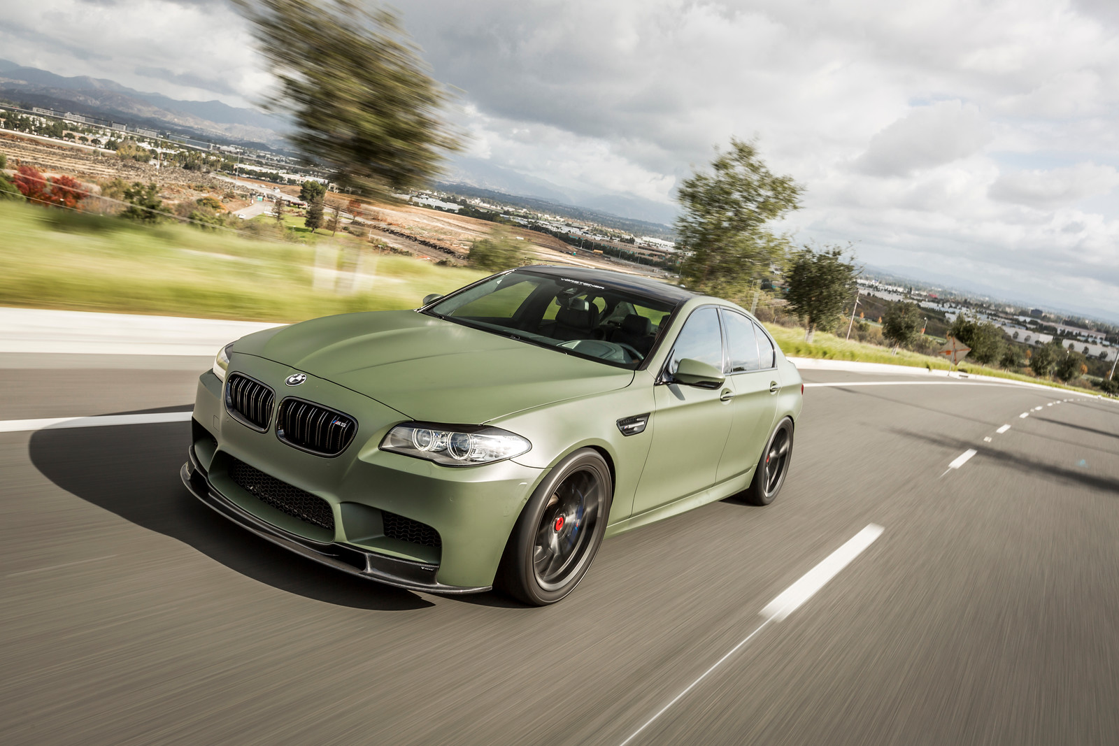 If Anything, A Matte Military Green BMW M5 Is Certainly ...