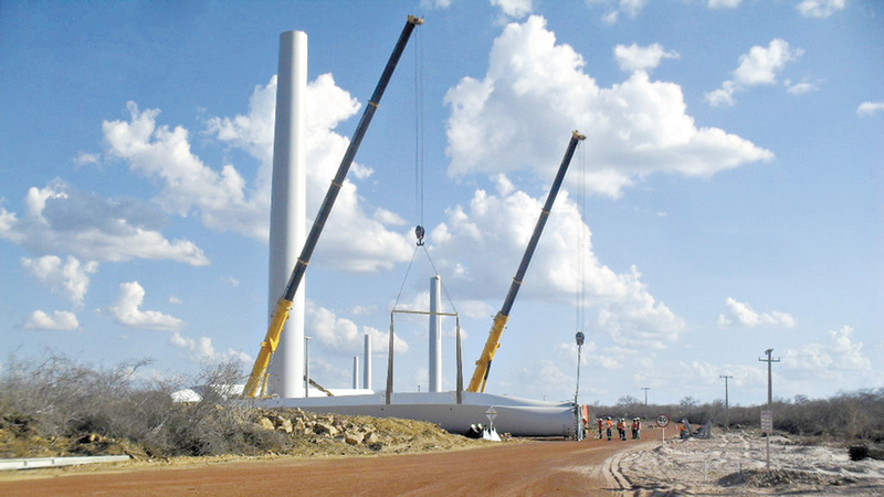 Resultado de imagem para Complexo eólico de Tianguá inicia operação nesta quarta-feira (14)