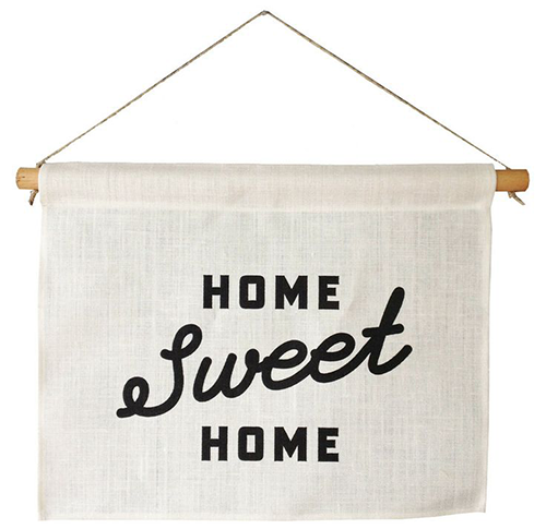 Home Sweet Home Banner from One Potato Four