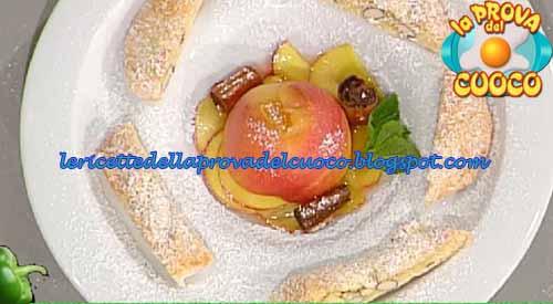 Biscotti Di Prato Alle Mandorle Con Pesche Al Vin Santo Ricetta