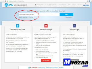 cara setting manual sitemap xml prestashop
