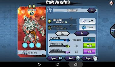 Mutants: Genetic Gladiators Breeding video N°416 (The Glutton - Zombie # Il Ghiottone - Zombi)
