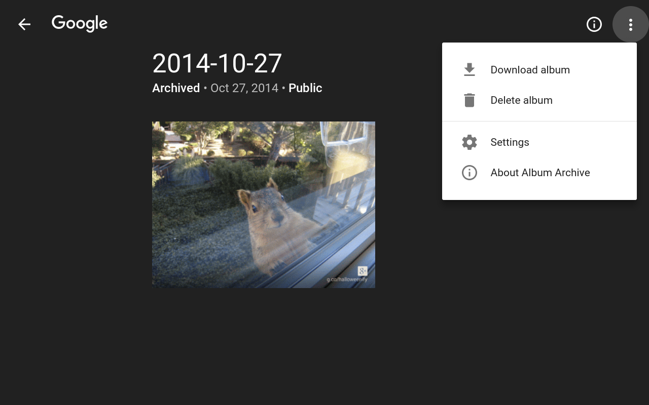Back up your Google+ photos and videos before the April 2nd