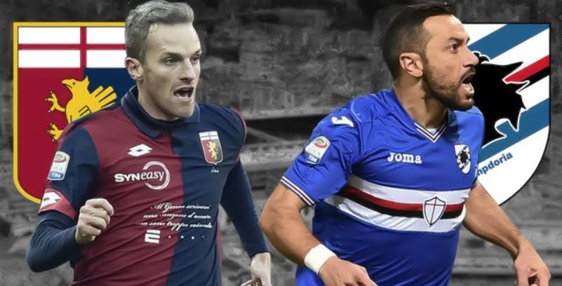 Genoa-Sampdoria Streaming Gratis Rojadirecta Sky DAZN Facebook YouTube, dove vedere il Derby della Lanterna.