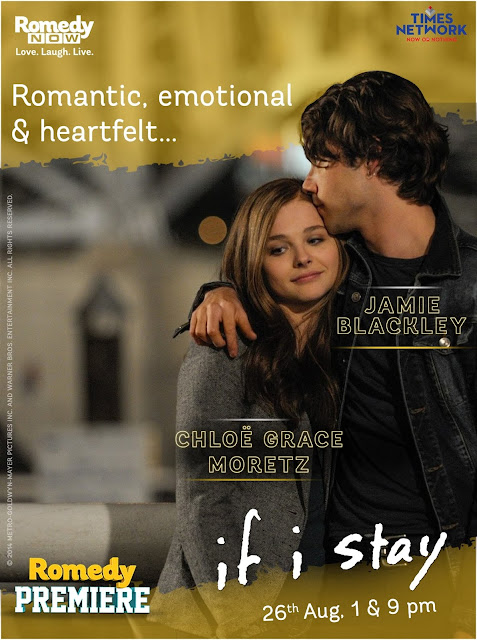 Romedy NOW to air the Indian television premier of 'If I Stay' (pr)